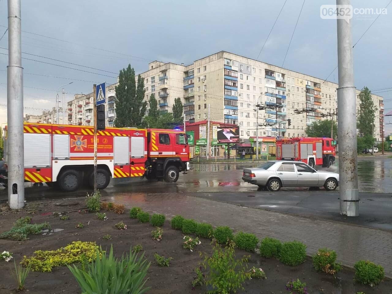 После дождика в четверг: мощный ливень обрушился на Северодонецк и оставил массу проблем, фото-1