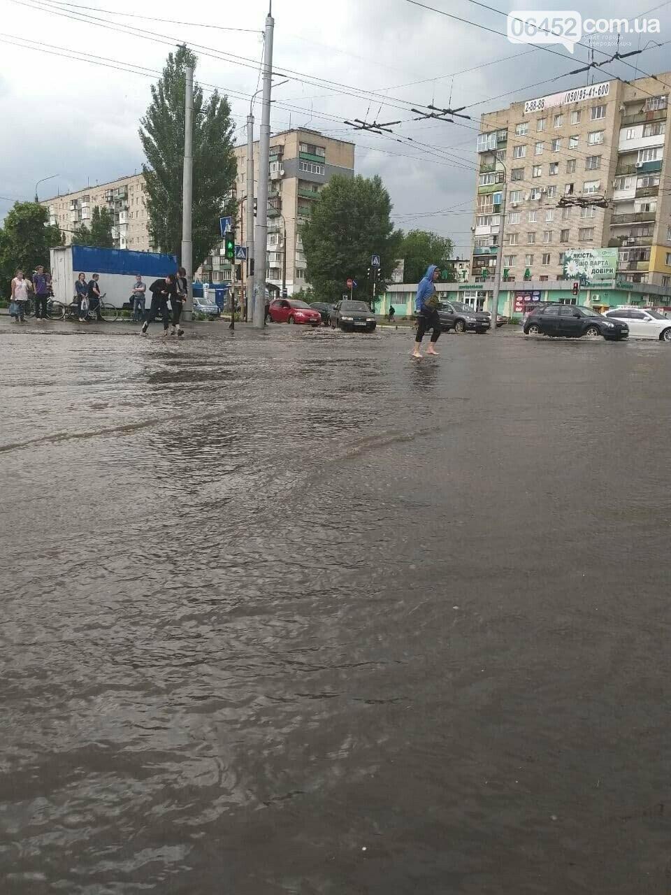 Потоп в квартирах и река в торговом центре: последствия ливня в Северодонецке (фото, видео) , фото-1
