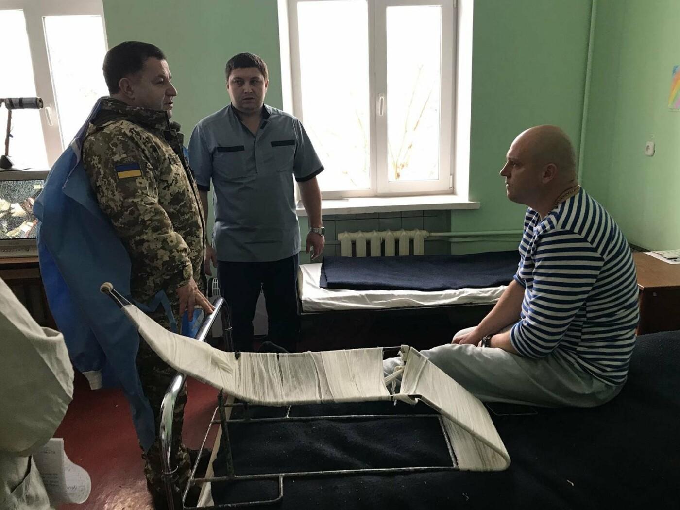 Степан Полторак відвідав поранених військовослужбовців у Сєвєродонецьку, фото-5