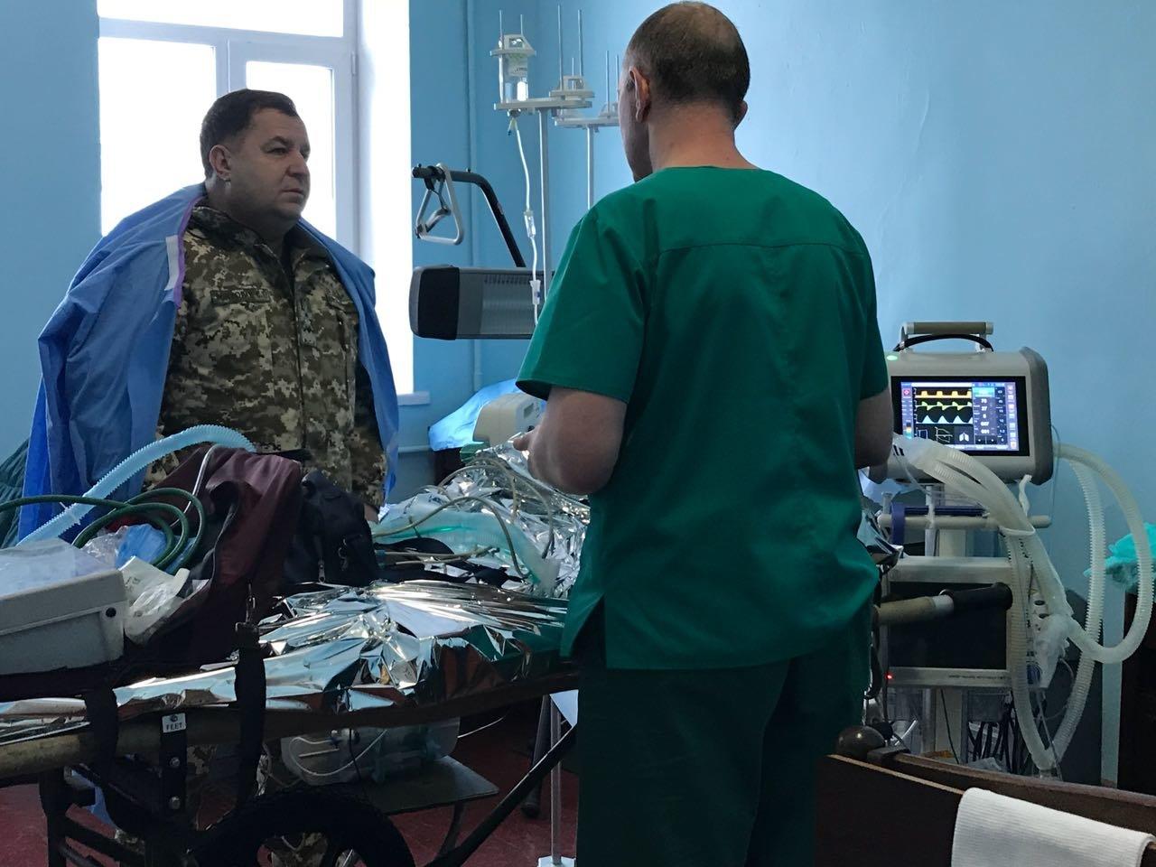 Степан Полторак відвідав поранених військовослужбовців у Сєвєродонецьку, фото-6