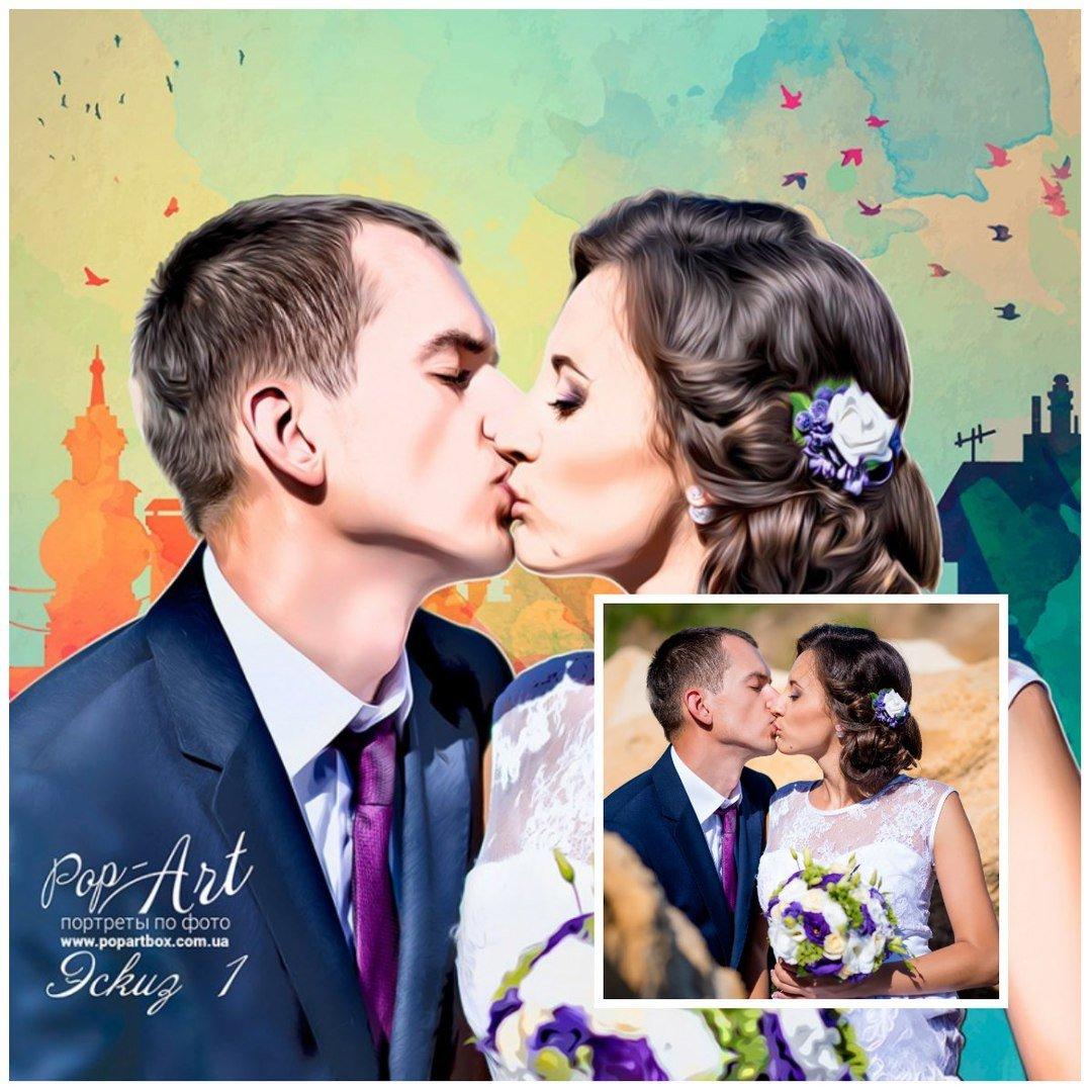 Не знаешь что подарить на День влюбленных? Есть отличный вариант от Студии портретов на холсте PopArt (ФОТО), фото-4