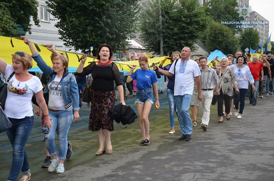 Лисичанск отметил день освобождения города от боевиков, фото-3