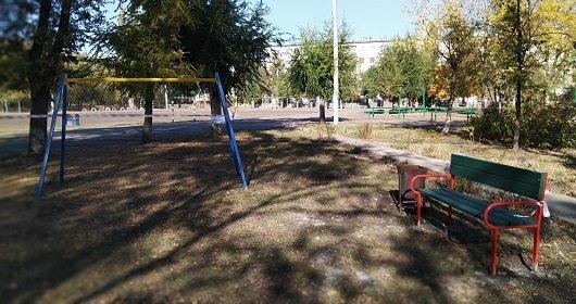 В Северодонецке возле школы №17 появилась спортивная площадка (фото), фото-7