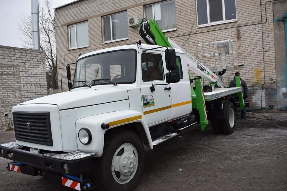 Северодонецкие коммунальщики получили новую спецтехнику (фото), фото-4