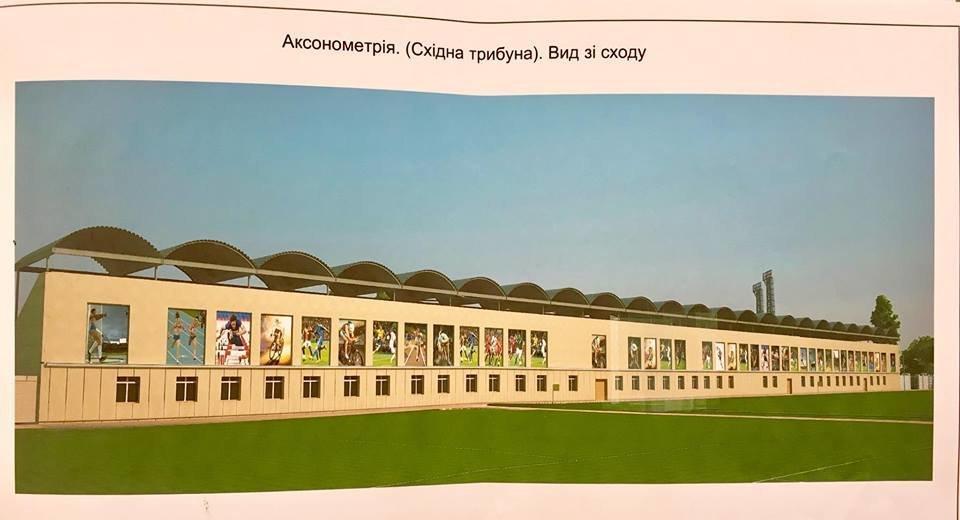 """Игорь Слесарев показал, каким хотят сделать северодонецкий стадион """"Химик"""", фото-1"""