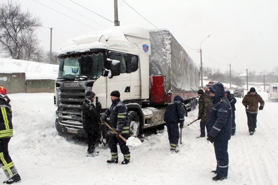 За прошедшие сутки спасатели Луганщины 8 раз выезжали на помощь водителям, фото-1