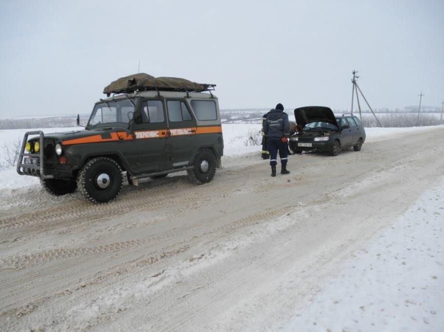 За прошедшие сутки спасатели Луганщины 8 раз выезжали на помощь водителям, фото-2
