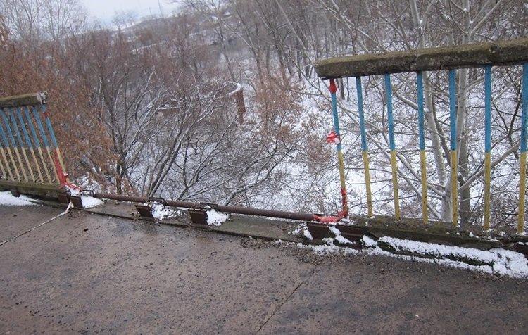 Состояние моста через Северский Донец вызывает у жителей опасение, фото-2