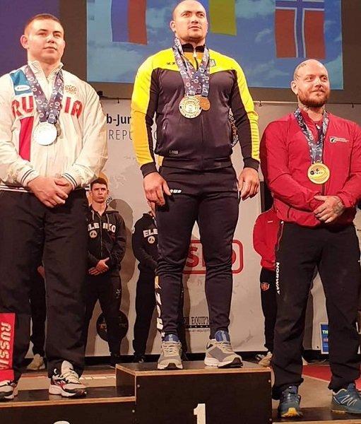 Представитель Луганской области стал чемпионом Европы по пауэрлифтингу, фото-1