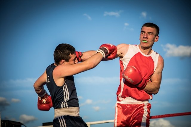 В Лисичанске прошел боксерский турнир памяти отца и сына Назаренко и концерт группы Армия, фото-4