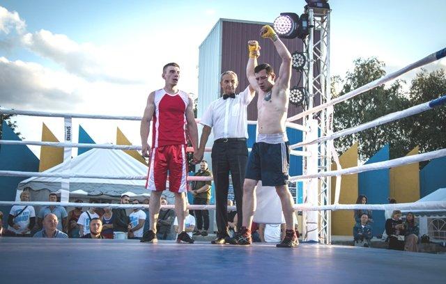 В Лисичанске прошел боксерский турнир памяти отца и сына Назаренко и концерт группы Армия, фото-6