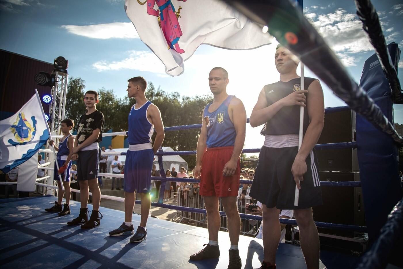 В Лисичанске прошел боксерский турнир памяти отца и сына Назаренко и концерт группы Армия, фото-19