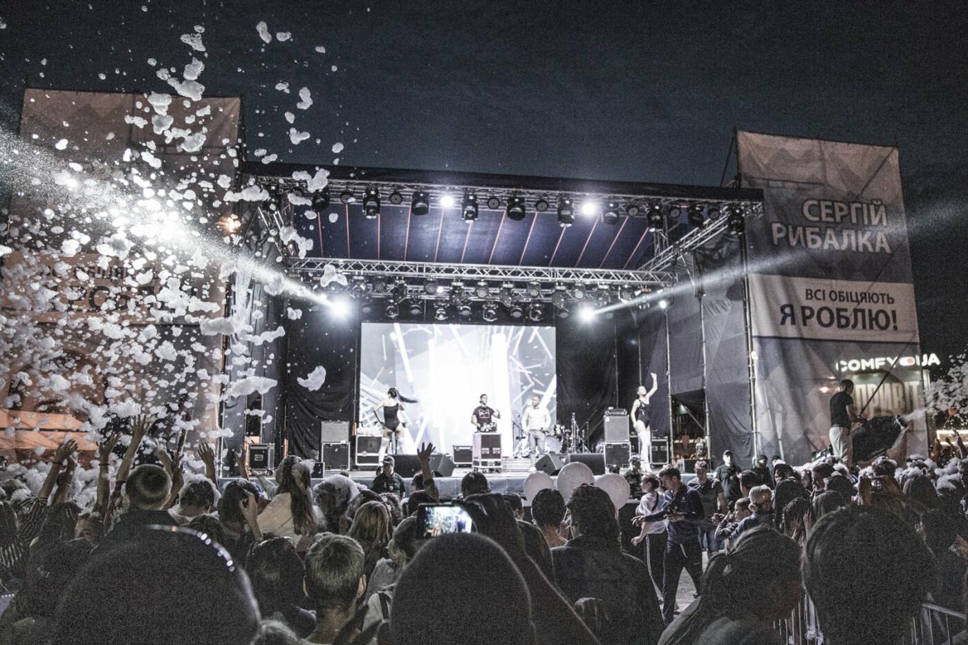 Встреча с Сергеем Рыбалка и концерт группы «НеАнгелы» стали самым масштабным событием в Лисичанске за десятилетие, фото-24