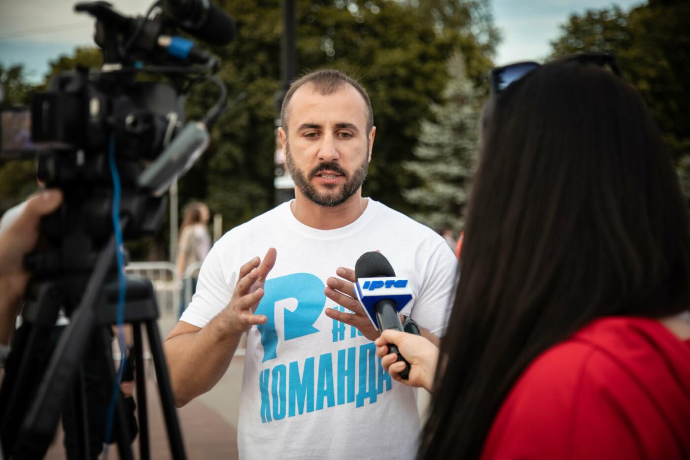 Встреча с Сергеем Рыбалка и концерт группы «НеАнгелы» стали самым масштабным событием в Лисичанске за десятилетие, фото-7