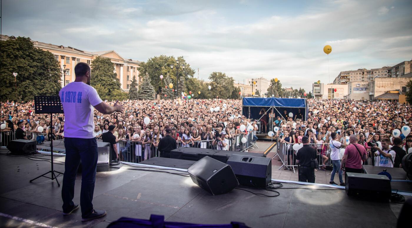 Встреча с Сергеем Рыбалка и концерт группы «НеАнгелы» стали самым масштабным событием в Лисичанске за десятилетие, фото-8