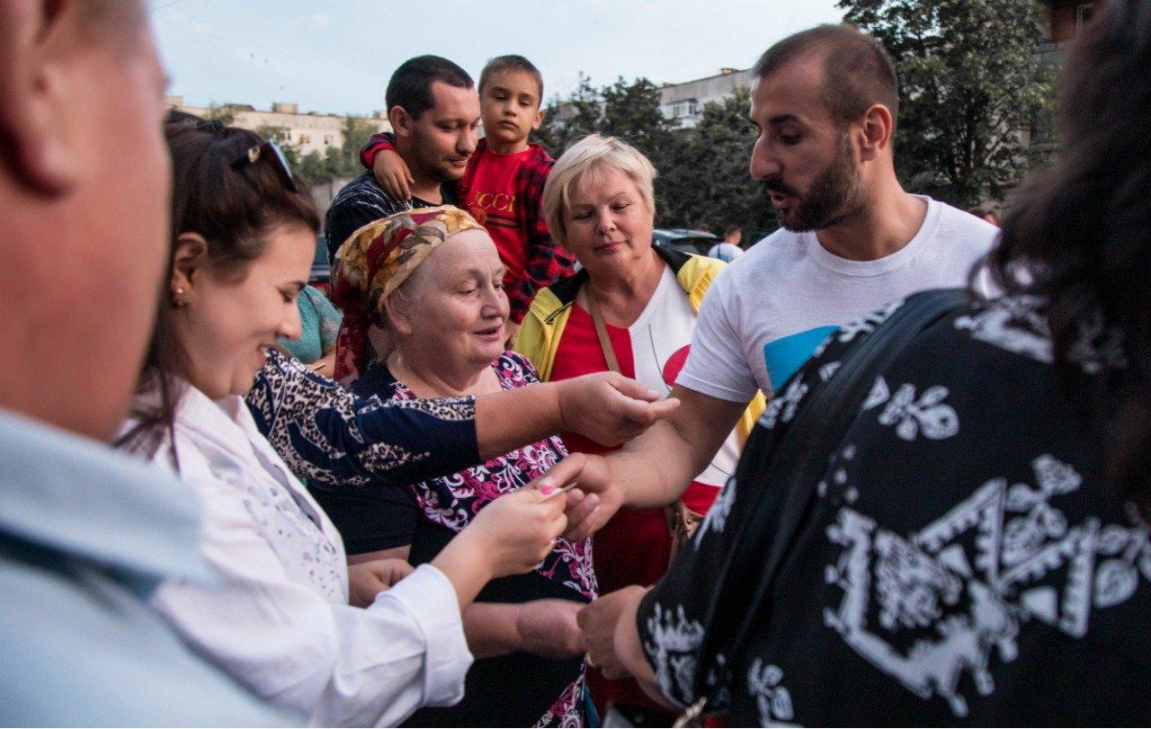 За полторы недели  приемные Сергея Рыбалка посетили более 2500 пенсионеров, фото-12