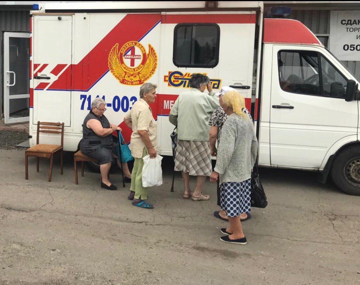 В Попасной медики-волонтеры спасли местного жителя от смерти, фото-1