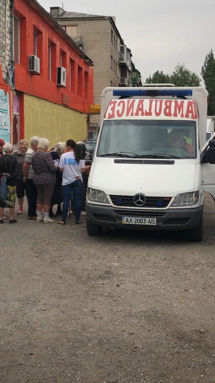 В Попасной медики-волонтеры спасли местного жителя от смерти, фото-2