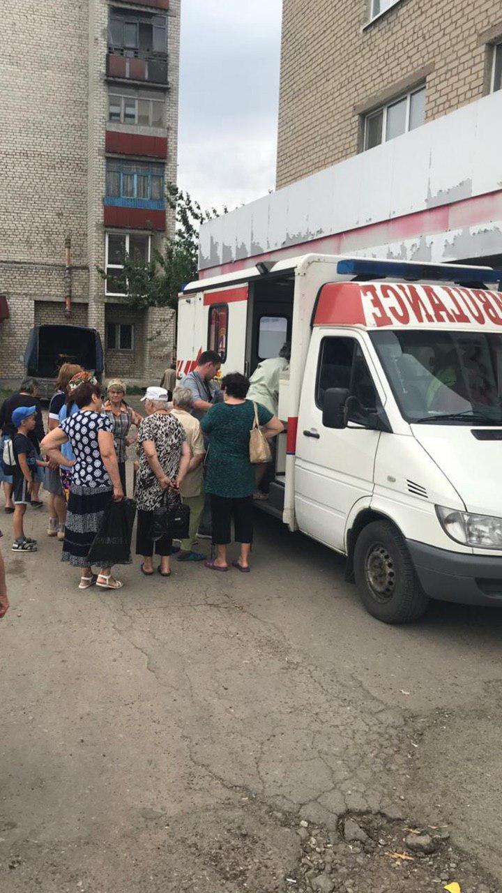 В Попасной медики-волонтеры спасли местного жителя от смерти, фото-4