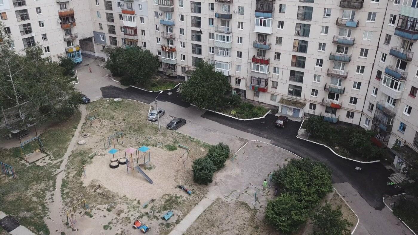За три недели команда Сергея Рыбалка проложила 32,5  тыс. кв. м. нового асфальта в Лисичанске и окрестных городах, фото-14