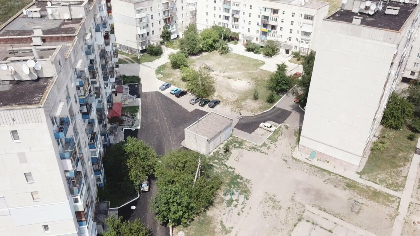 За три недели команда Сергея Рыбалка проложила 32,5  тыс. кв. м. нового асфальта в Лисичанске и окрестных городах, фото-15