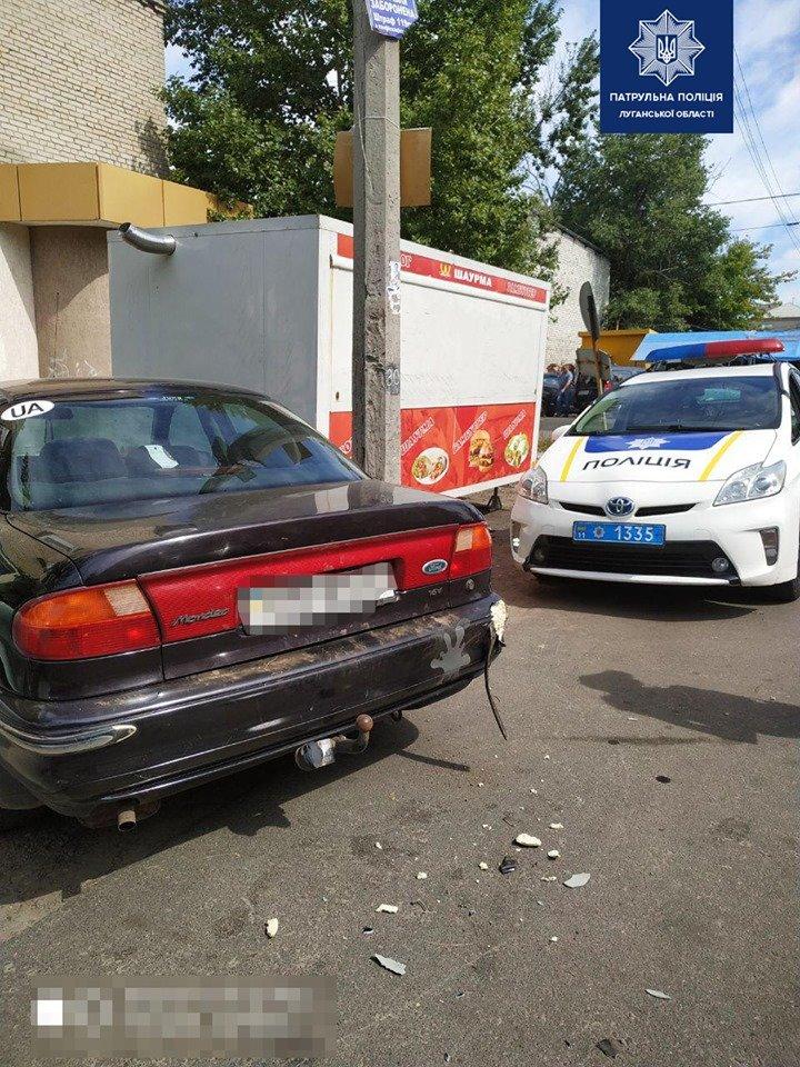 Патрульные Северодонецка разыскали виновника ДТП, фото-2