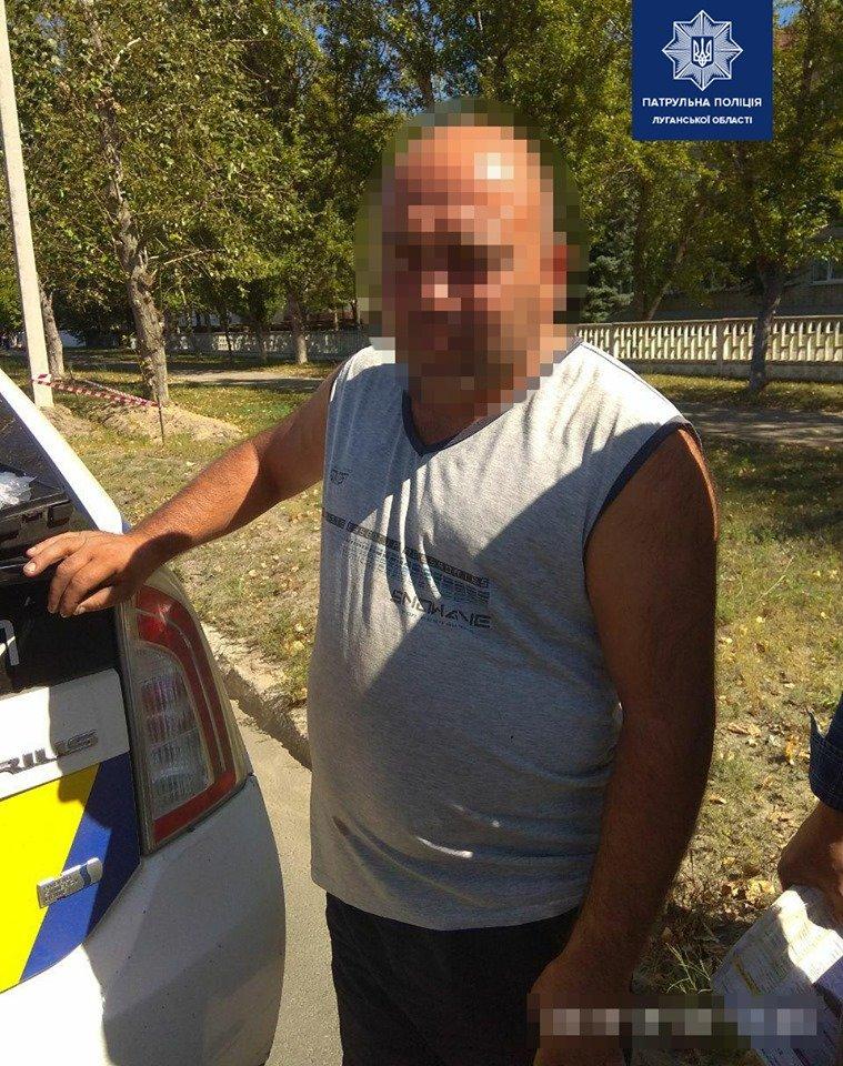 В Северодонецке нетрезвый водитель управлял КАМАЗом, фото-1