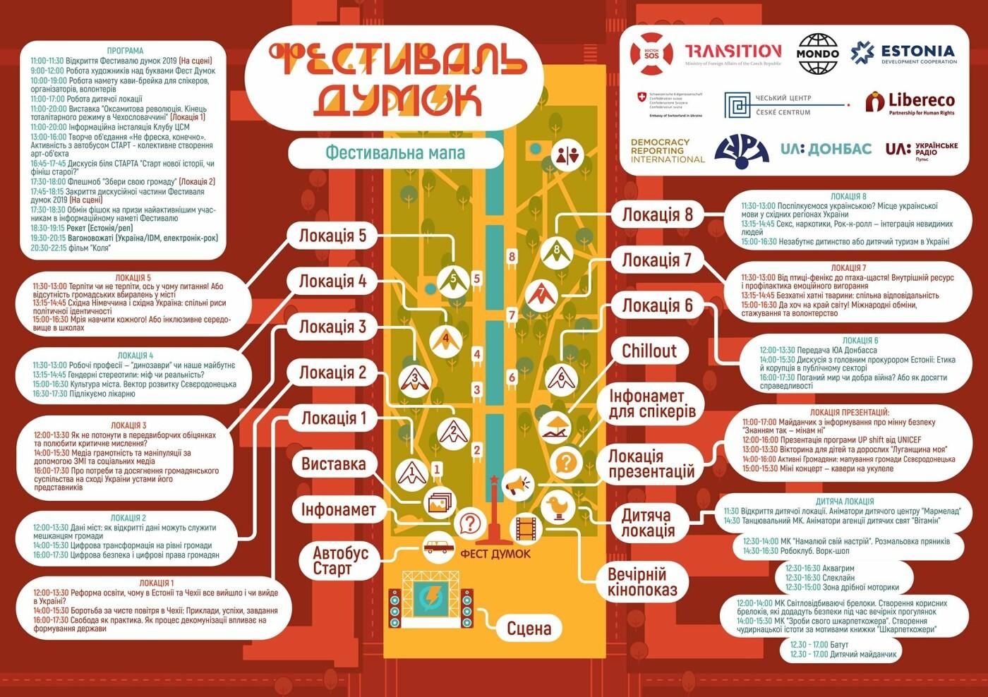 Известен список дискуссий на Фестивале мнений в Северодонецке, фото-1