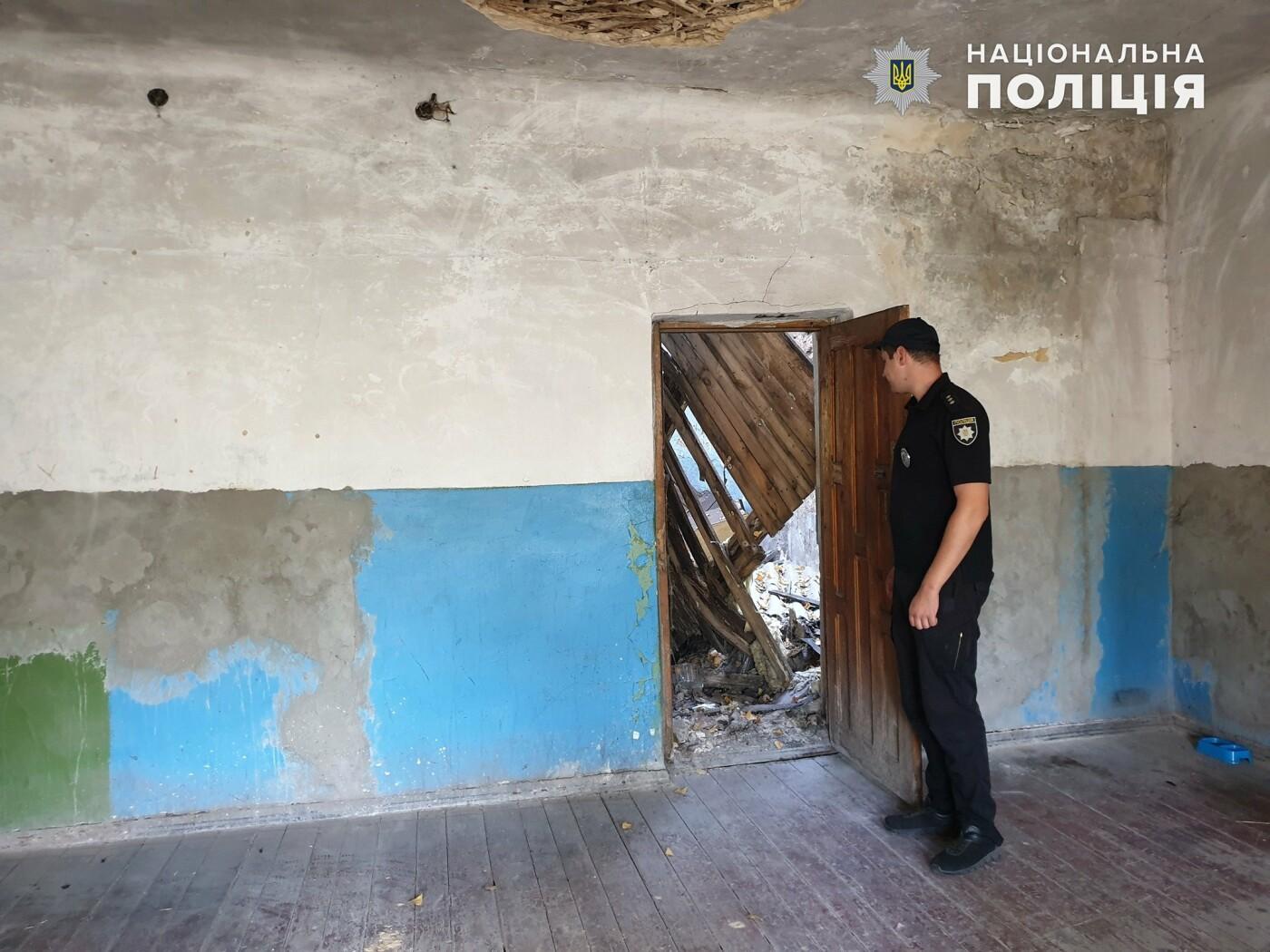 В одном из домов Лисичанска обрушилась крыша, фото-1