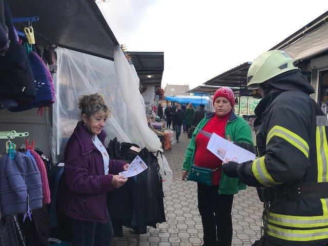 Северодонецкие спасатели провели рейд по рынкам, фото-1