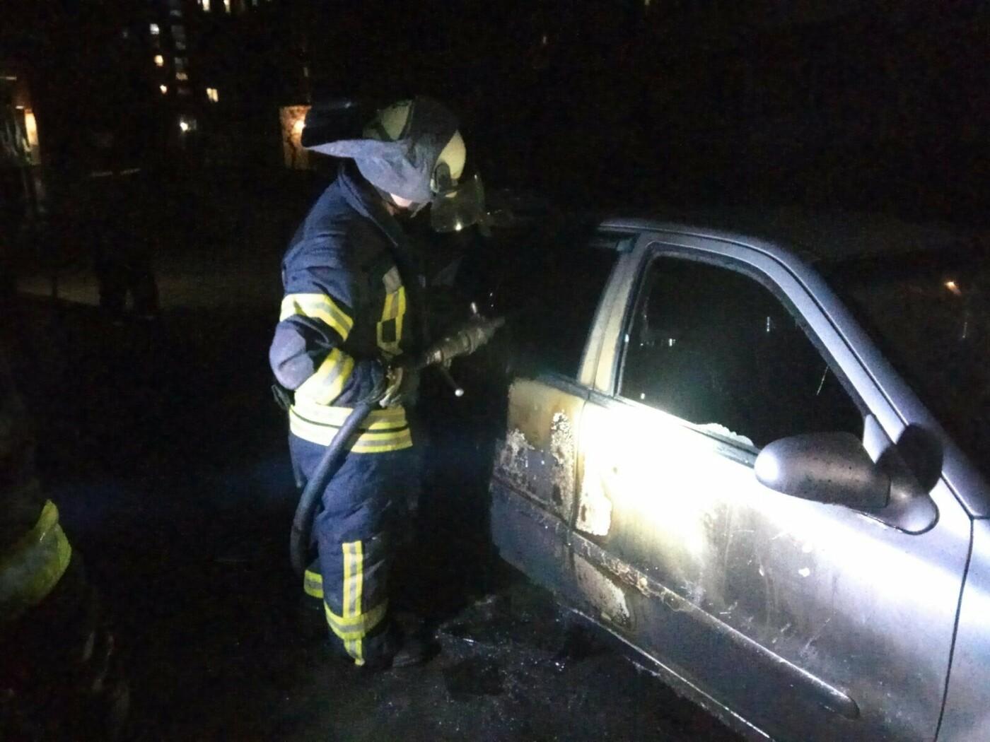 В Северодонецке спасли из горящего автомобиля мужчину, фото-1