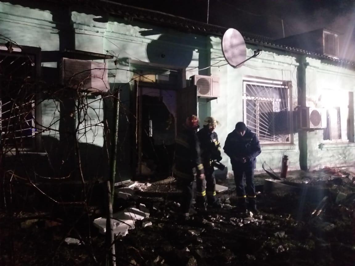 На Луганщине горел психоневрологический интернат: 4 погибших, фото-1