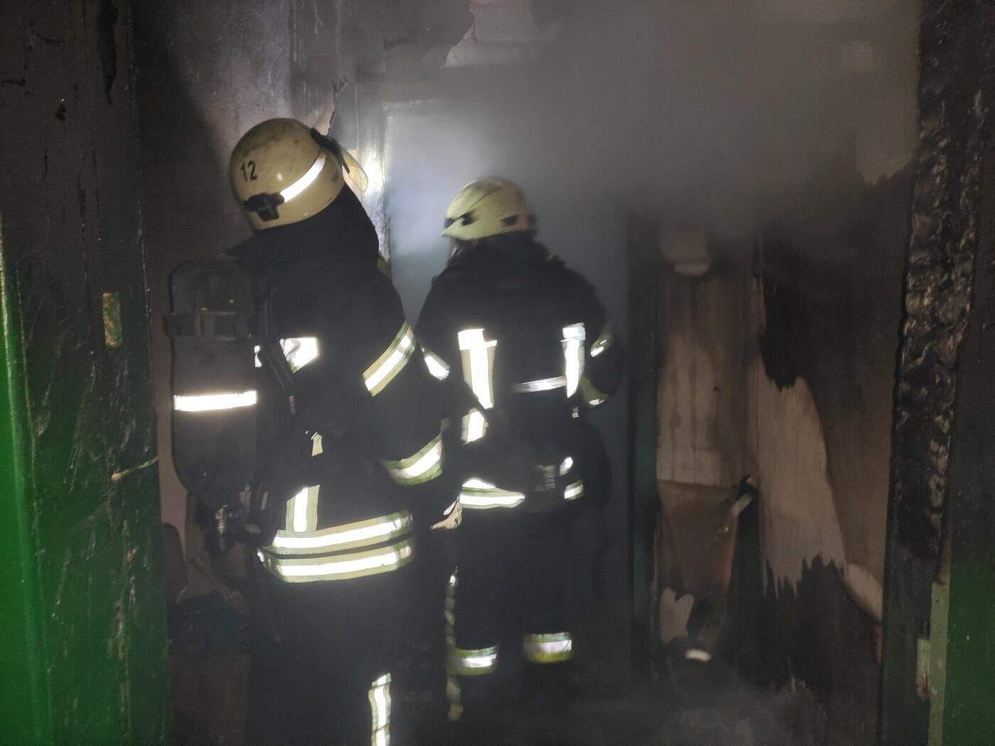 Спасатели несколько часов тушили пожар под Северодонецком, фото-2