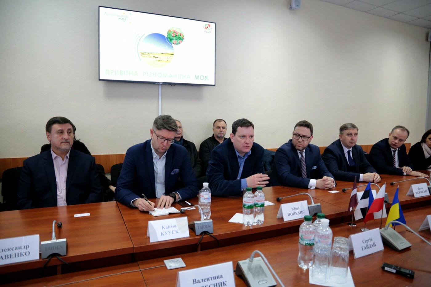 Глава ОГА обсудил перспективы Луганщины с послами стран ЕС, фото-1
