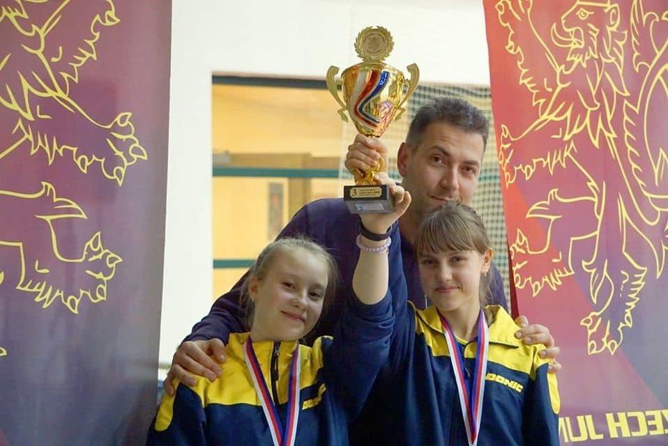 Юнные теннисистки Луганской области взяли бронзу на Международном турнире, фото-1