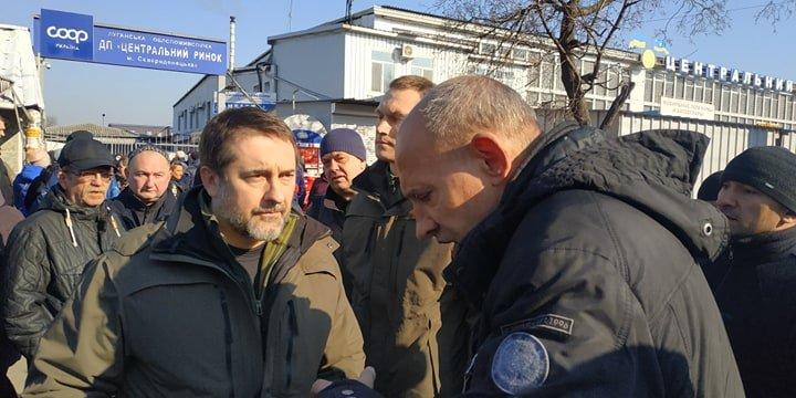 В Северодонецке прошли акции протеста против закрытия рынков, фото-2