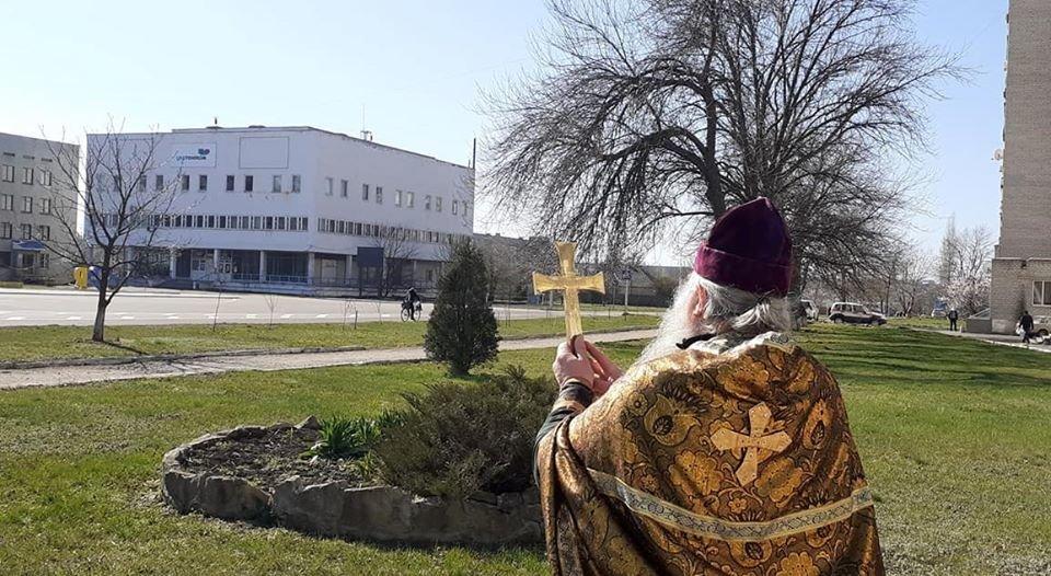 На Луганщине с коронавирусом борятся крестным ходом (фото), фото-2
