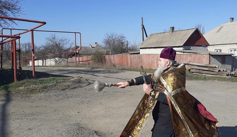 На Луганщине с коронавирусом борятся крестным ходом (фото), фото-1