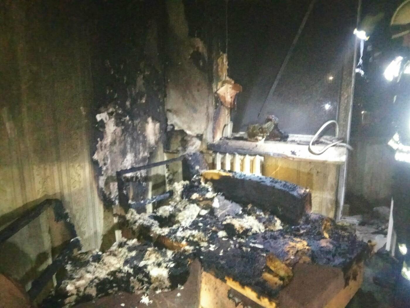 В Северодонецке во время пожара спасли двух человек, фото-1