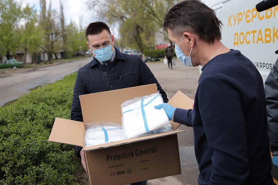 Больницы Луганщины получили очередную помощь для противодействия COVID-19, фото-1