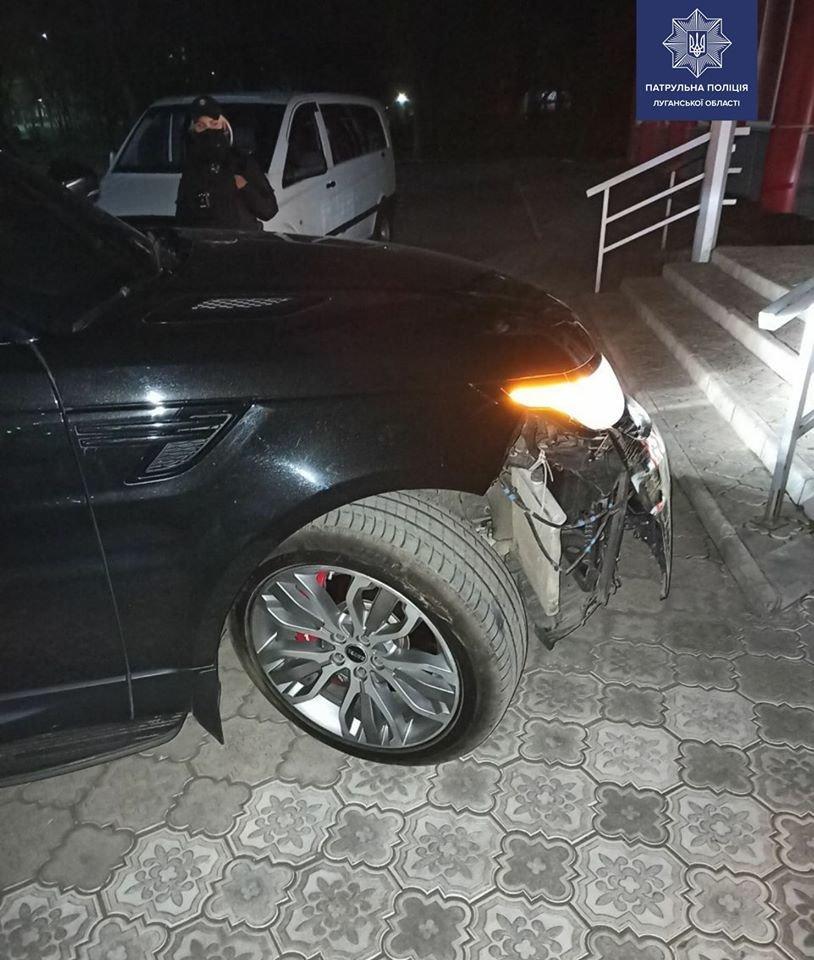 В Северодонецке пьяный водитель сбил светофор, фото-2