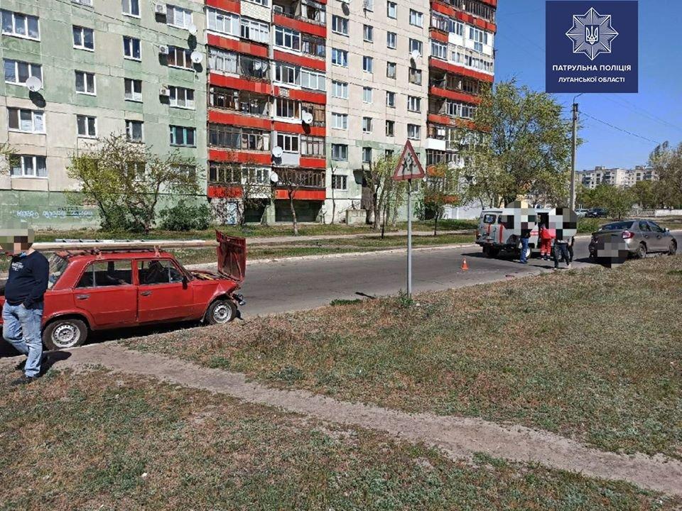 В Северодонецке в результате двух ДТП пострадали люди, фото-3