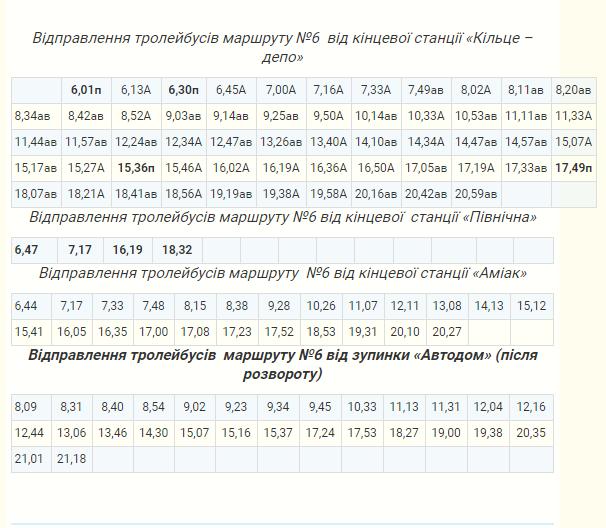 В Северодонецке меняется расписание движения троллейбусов, фото-6
