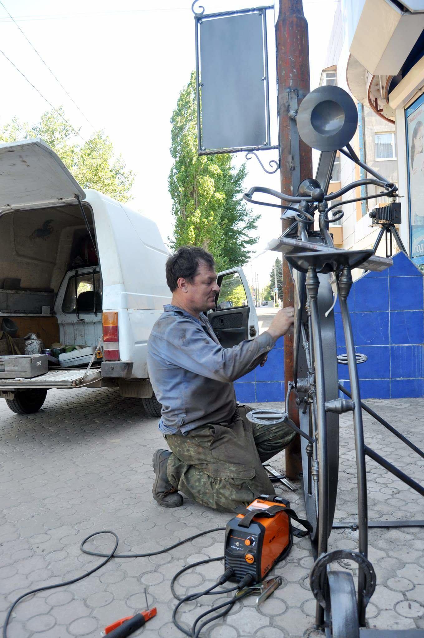 Мастер из Северодонецка подарил городу новую скульптуру, фото-4