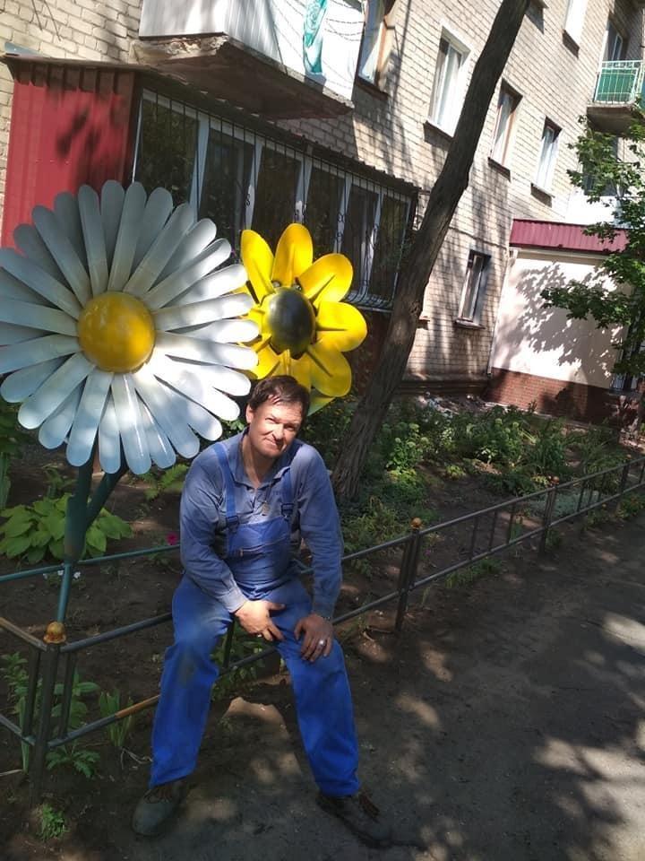 Мастер из Северодонецка подарил городу новую скульптуру, фото-5