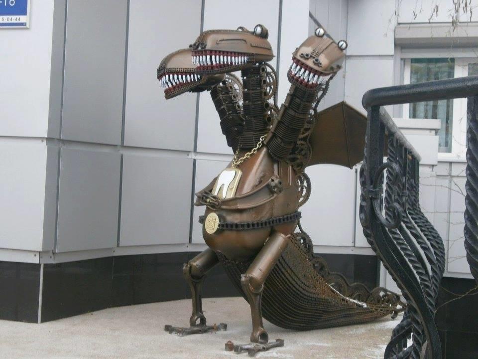 Мастер из Северодонецка подарил городу новую скульптуру, фото-6