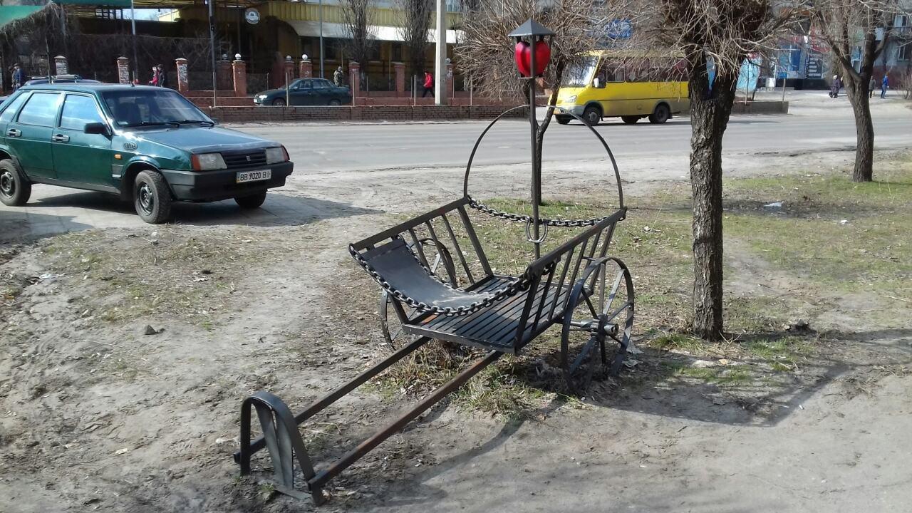 Мастер из Северодонецка подарил городу новую скульптуру, фото-8