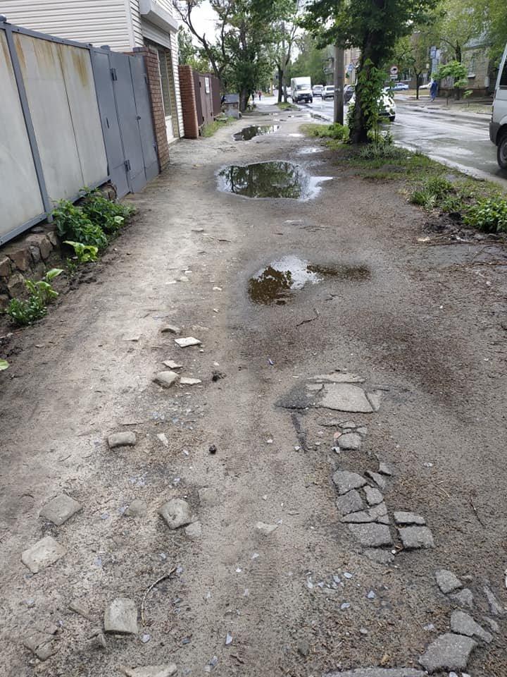 В Северодонецке тротуар превратился в полосу препятствий, фото-2