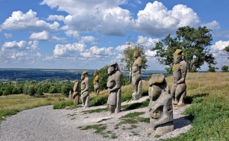 Байбак - символ бескрайних степей Луганщины, фото-6