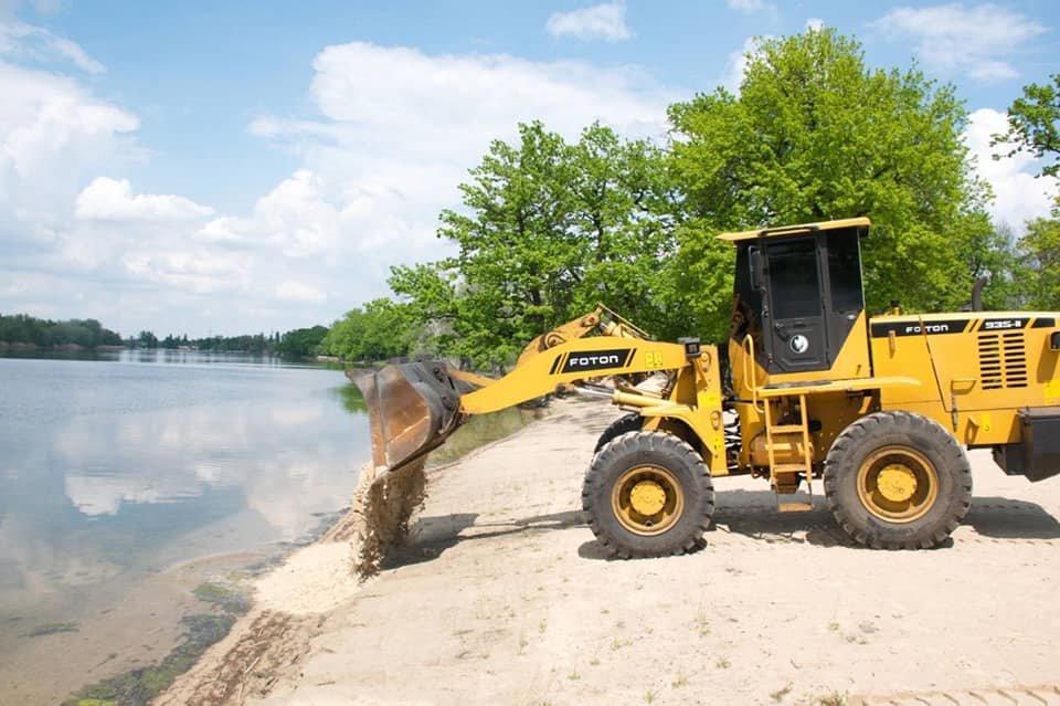 На Луганщине началось обустройство пляжей к летнему сезону, фото-1